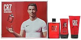 Perfumería y cosmética Cristiano Ronaldo CR7 - Set (eau de toilette/100ml + gel de ducha/150ml + bálsamo aftershave/100ml)