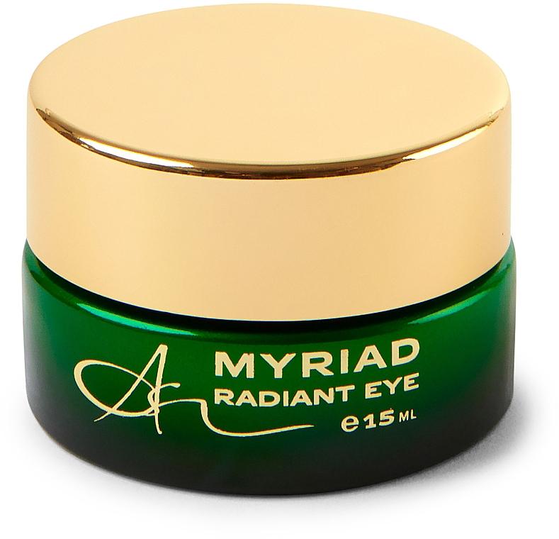 Crema aromaterapéutica revitalizante para contorno de ojos con extracto de té verde - Ambasz Myriad Radiant Eye