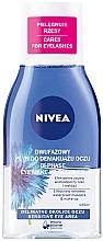 Perfumería y cosmética Nivea Visage Double Effect Eye Make-Up Remover - Desmaquillador de ojos doble acción para piel sensible
