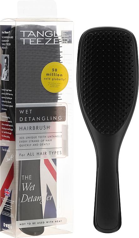 Cepillo desenredante para cabello mojado, negro - Tangle Teezer Wet Detangler Hairbrush