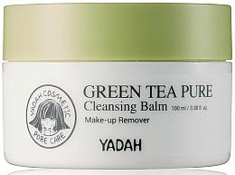 Perfumería y cosmética Bálsamo desmaquillante limpiador con té verde en polvo - Yadah Green Tea Pure Cleansing Balm