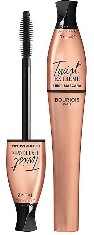 Máscara de pestañas para volumen extra - Bourjois Fiber Mascara Twist Up Extreme Volume