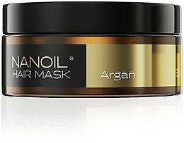 Perfumería y cosmética Mascarilla capilar con aceite de argán - Nanoil Argan Hair Mask