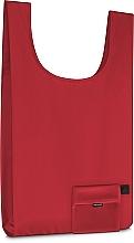 Perfumería y cosmética Bolso shopper compacto, rojo (57x32cm) - MakeUp Smart Bag