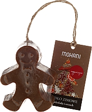 Perfumería y cosmética Jabón hipoalergénico natural artesanal con aroma a chocolate y nueces - Mohani