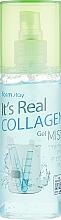 Perfumería y cosmética Bruma facial natural con colágeno - FarmStay It's Real Collagen Gel Mist