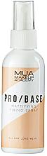 Perfumería y cosmética Spray fijador de maquillaje de larga duración con efecto mate - MUA Pro Base Mattifying Fixing Spray