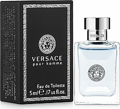 Versace Versace Pour Homme - Eau de toilette (mini)  — imagen N1