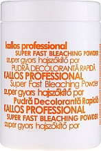 Perfumería y cosmética Polvos decolorantes para cabello - Kallos Cosmetics Powder For Hair Bleaching