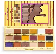 Perfumería y cosmética Paleta de sombras de ojos - I Heart Revolution Eyeshadow Chocolate Palette Creme Brulee