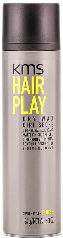 Cera fijadora en spray con acabado mate - KMS California Hairplay Dry Wax — imagen N1