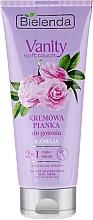 Perfumería y cosmética Espuma en crema depilatoria con aceite de Camelia - Bielenda Vanity Soft Touch Kamelia