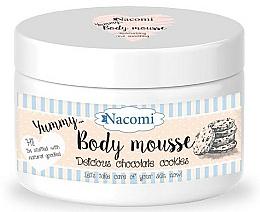 Perfumería y cosmética Mousse corporal con karité y aceite de argán, aroma a galletas - Nacomi Body Mousse