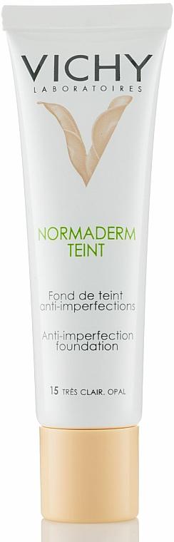 Vichy Normaderm Teint Crema Facial Antiacné Con Extracto De Corteza De Sauce Blanco Makeup Es