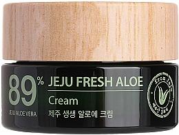 Perfumería y cosmética Crema facial natural con 89% de jugo de aloe vera - The Saem Jeju Fresh Aloe Cream