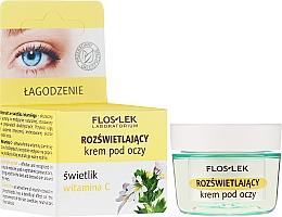 Perfumería y cosmética Crema iluminadora para contorno de ojos con vitamina C - Floslek
