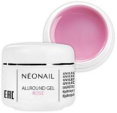 Perfumería y cosmética Gel constructor de uñas monofásico, rosa - NeoNail Professional Allround Gel Rose