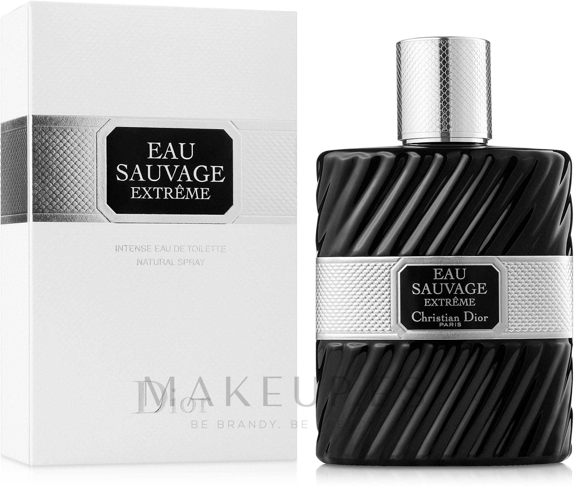 Dior Eau Sauvage Extreme - Eau de toilette spray — imagen 100 ml