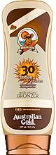 Perfumería y cosmética Protector solar bronceador - Australian Gold Lotion With Instant Bronzer Spf30