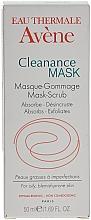 Perfumería y cosmética Mascarilla facial exfoliante con arcilla blanca y agua termal - Avene Exfoliating Absorbing Cleanance Mask-Scrub