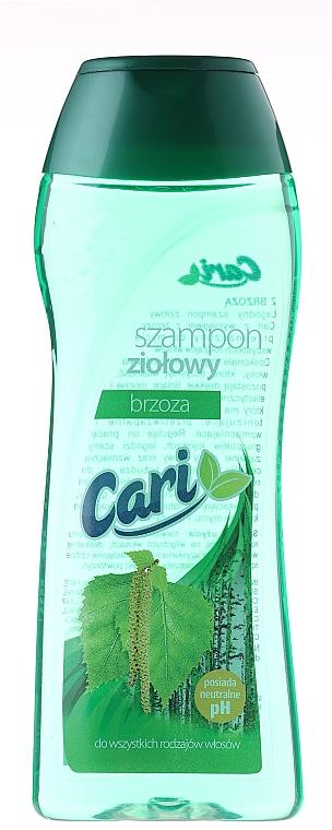 Champú con extracto de abedúl - Cari Shampoo