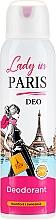 Perfumería y cosmética Desodorante spray - Lady In Paris Deodorant