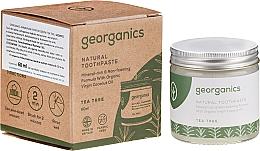Perfumería y cosmética Pasta dental natural con aceite orgánico de árbol de té - Georganics Tea Tree Natural Toothpaste