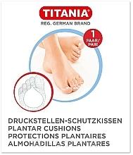 Perfumería y cosmética Almohadillas de plantas de pies protectoras, 1 par - Titania Plantar Cushions