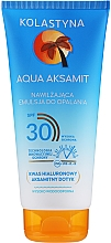 Perfumería y cosmética Emulsión hidratante de protección solar con ácido hialurónico, SPF30 - Kolastyna Aqua Aksamit Suncare Emulsion SPF 30
