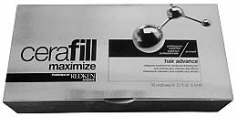 Perfumería y cosmética Tratamiento para la caída y densidad del cabello con arginina y Omega 6 - Redken Cerafill Aminexil