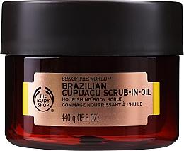 Perfumería y cosmética Exfoliante corporal nutritivo con nuez brasileña - The Body Shop Brazilian Cupuacu Scrub-in-oil