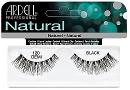 Perfumería y cosmética Pestañas postizas - Ardell Natural Lashes Demi Black 120
