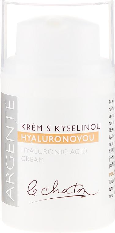 Crema facial hidratante con ácido hialurónico - Le Chaton Argente Moisturizer With Hyaluronic Acid — imagen N1