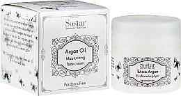 Perfumería y cosmética Crema facial con aceite de árgan & aloe vera - Sostar Moisturizing Face Cream with Aloe & Argan Oil