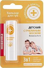 Perfumería y cosmética Bálsamo labial para niños con vitamina A y E - Médico casero