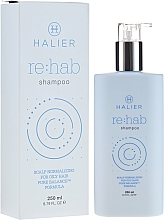 Perfumería y cosmética Champú equilibrante con extractos de salvia y limón - Halier Re:hab Shampoo