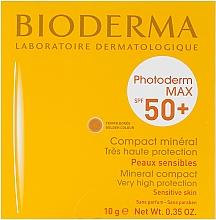 Perfumería y cosmética Crema solar compacto mineral con cera alba y extracto de laminaria SPF50 - Bioderma Photoderm Max SPF50+ Mineral Compact