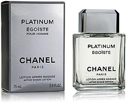 Perfumería y cosmética Chanel Egoiste Platinum - Loción after shave