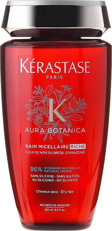 Champú micelar con aceite de nuez brasileña - Kerastase Aura Botanica Bain Micellaire Riche Shampoo — imagen N1