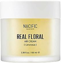 Perfumería y cosmética Crema facial con extracto de caléndula - Nacific Real Floral Calendula Air Cream