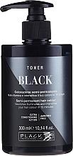 Perfumería y cosmética Crema colorante semipermanente, sin amoíaco - Black Professional Line Semi-Permanent Coloring Toner