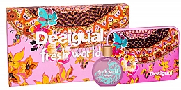 Perfumería y cosmética Desigual Fresh World - Set (Eau de toilette/100ml + neceser)