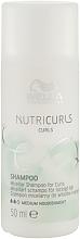 Perfumería y cosmética Champú micelar que define los rizos - Wella Professionals Nutricurls Curls Shampoo (mini)