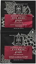 Perfumería y cosmética Mascarilla natural antiedad para contorno de ojos con uva - Apivita Express Beauty Eye Mask Grape