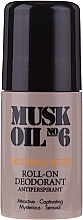 Perfumería y cosmética Desodorante roll-on antitranspirante - Gosh Musk Oil No.6 Roll-On Deodorant