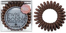 Perfumería y cosmética Coletero espiral - Invisibobble Power Pretzel Brown