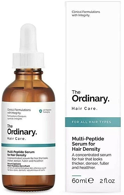 Sérum multipeptídico redensificante de cabello - The Ordinary Multi Peptide Serum For Hair Density