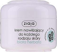 Perfumería y cosmética Crema facial natural con extracto de té blanco - Ziaja Cream White Tea