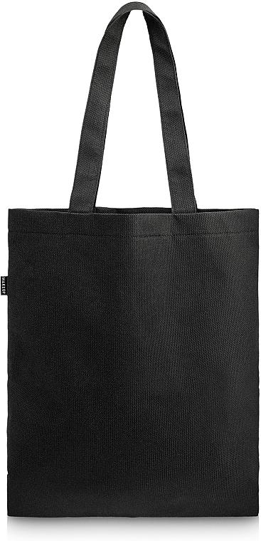 Bolso shopper, negro (45x30cm) - MakeUp Eco Friendly Tote Bag Black Perfect Style