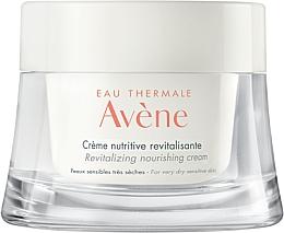 Perfumería y cosmética Crema nutritiva y revitalizante para rostro - Avene Eau Thermale Revitalizing Nourishing Cream